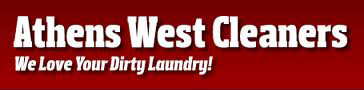 athens west cleaners logo